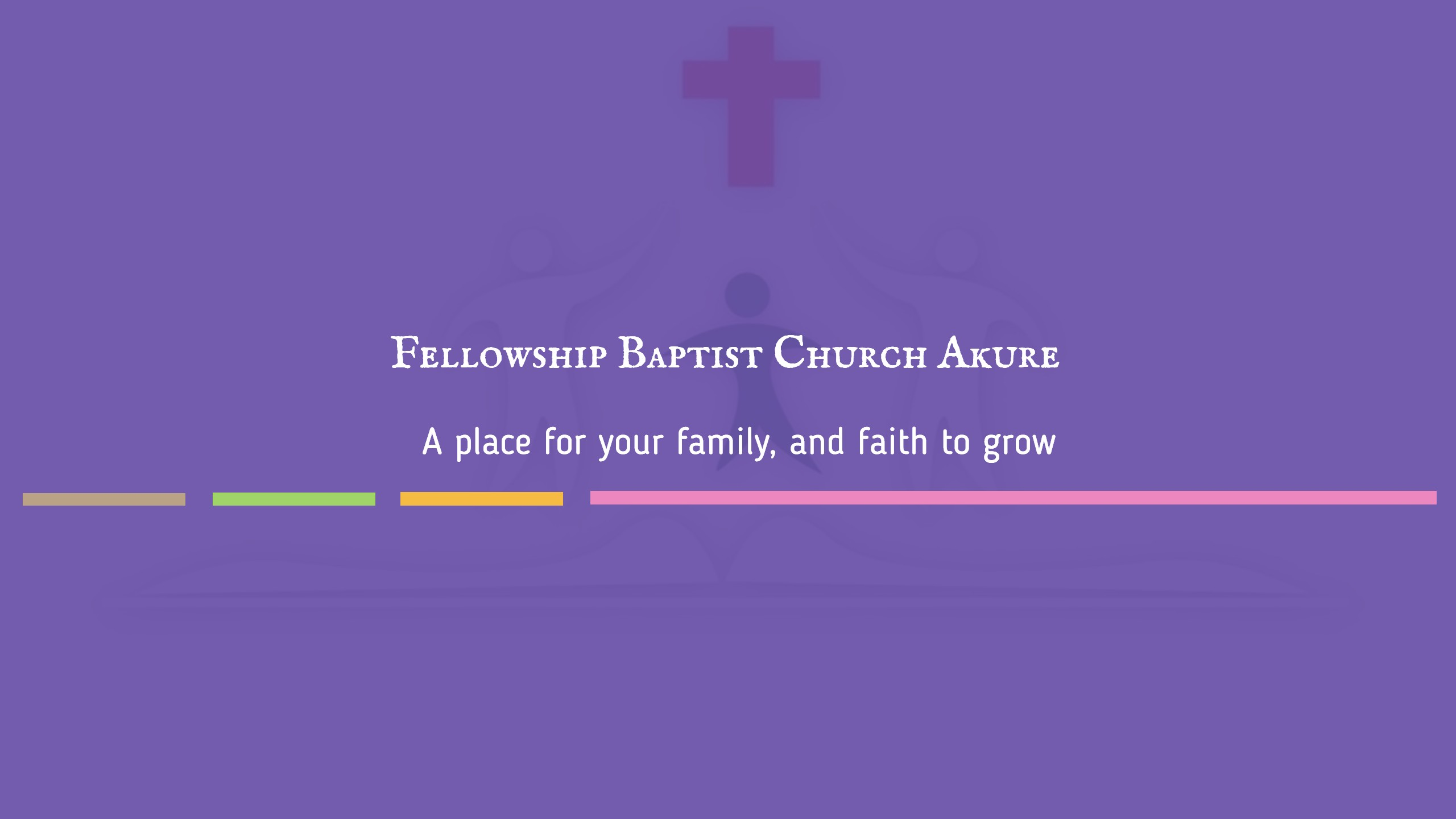 A place for your family, and faith to grow